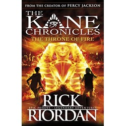 The Throne of Fire: Kane Chronicles Book 2